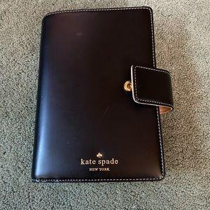 KATE SPADE BLACK ADRESS/NOTEBOOK